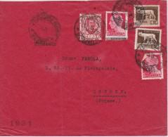 ITALIE 1931 LETTRE POUR LA SUISSE - Marcofilía