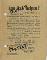 Kessel-Loo :  Levensverzekeringen A. Degroeve  :  Zie Scans  :   15 X 12 Cm - Belgique