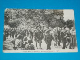 17 ) Ile De Ré  - Saint-martin De Ré  - Arrivée Des Forçats Au Dépot - Année  - EDIT: G.C - Saint-Martin-de-Ré