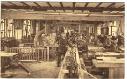 Eysden - Charbonnages Limbourg-Meuse - L'atelier De Menuiserie - Vue Très Animée - 2 Scans - Maasmechelen