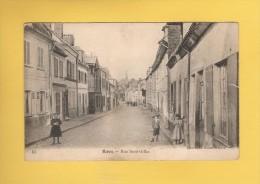 * CPA..dépt 80..ROYE :  Rue  Saint Gilles..Scan B : Voir Les 2 Scans - Roye