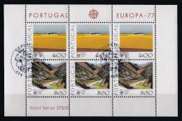 Portugal 1977 : Bloc Feuillet N° 20 Oblitération 1er Jour : Europa 77 - Blocs-feuillets