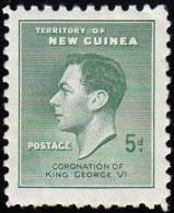 NEW GUINEA - Scott #50 King George VI / Mint NH Stamp - Great Britain (former Colonies & Protectorates)
