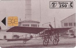 SPAIN - Airlplane, Vilanova-Acedo(Bleriot XI), Aeronaves Del Museo Del Aire, Tirage 5000, 12/96, Used - Avions
