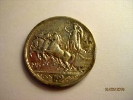Regno D'Italia: 2 Lire 1915 (argento / Silver) - 1900-1946 : Vittorio Emanuele III & Umberto II