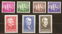 Belgie Belgique  1955 OCBnr. 979-85 *** MNH Cote 70 Euro - Unused Stamps