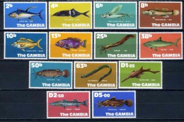 1971 -  GAMBIA  - Catg. Mi. 248/260 - LN - (D11032016.....B) - Gambia (1965-...)