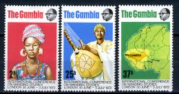 1972 -  GAMBIA  - Catg. Mi. 270/272 - LN - (D11032016.....B) - Gambia (1965-...)