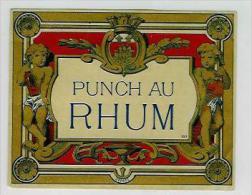 étiquette De Vin - Punch Au Rhum - N° 103 - Rhum