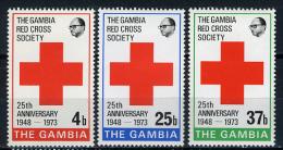 1973 -  GAMBIA  - Catg. Mi. 289/291 - LN - (D11032016.....B) - Gambia (1965-...)