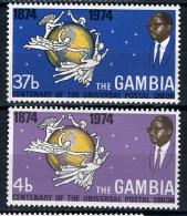 1974 -  GAMBIA  - Catg. Mi. 295/296 - LN - (D11032016.....B) - Gambia (1965-...)