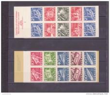 SUEDE   CARNETS  546/51   744/48  **     NEUFS SANS CHARNIERE - 1951-80