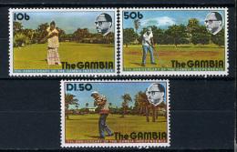 1976 -  GAMBIA  - Catg. Mi. 323/325 - LN - (D11032016.....B) - Gambia (1965-...)