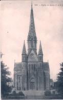 133. - Eglise De Bains (I.-et-V.) CPA écrite - France