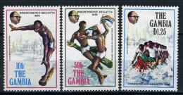 1977 -  GAMBIA  - Catg. Mi. 368/370 - LN - (D11032016.....B) - Gambia (1965-...)