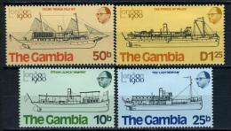 1980 -  GAMBIA  - Catg. Mi. 406/409 - LN - (D11032016.....B) - Gambia (1965-...)