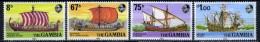 1980 -  GAMBIA  - Catg. Mi. 411/414 - LN - (D11032016.....B) - Gambia (1965-...)