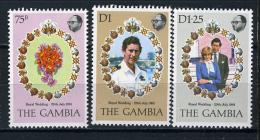 1981 -  GAMBIA  - Catg. Mi. 424/426 - LN - (D11032016.....B) - Gambia (1965-...)