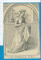 Holycard   St.  Caecilia - Images Religieuses