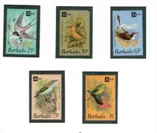 BARBADE 1987 OISEAUX  Yvert N°685/89  NEUF MNH** - Oiseaux