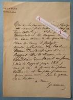L.A.S Ferdinand DUCARRE Député Rhône - Conditions Du Travail En France - Lettre Autographe LAS Lhuis Ain Lyon - Autógrafos