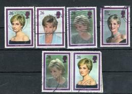 1998 Sg 2021-22-24-25- And Setenant 24-25 - 1952-.... (Elizabeth II)