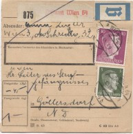 Deutsches Reich Paketkarte Wien 64 15/7/1944 Nach Strafgefängenis Göllersdorf  PR2813 - Deutschland