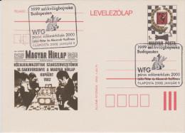 HONGRIE, Echecs, Match Peter Leko - Alexandre Kalifman, Budapest, 09.01.2000 - Chess