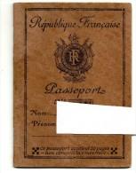 Passeport Ancien Visa Gare Bardonecchia Ferrovia - Vecchi Documenti