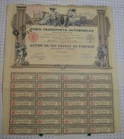 Paris Transports Automobiles - Automobile