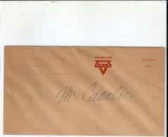 Enveloppe  Des  Etats Unis    -        AMERICAN     Y.M.C.A.     (  Non  Circulée ) - Amérique Centrale