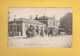 * CPA..dépt 95..ARGENTEUIL : La Gare   : Voir Les 2 Scans - Argenteuil