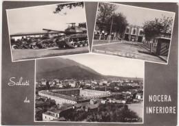 3456 - SALUTI DA NOCERA INFERIORE SALERNO 3 VEDUTE ANIMATA 1964 - Italie