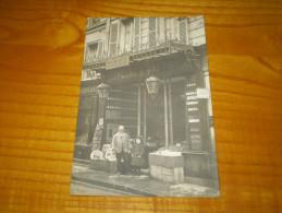 Carte Photo A. Poincet 8 Rue Miromesnil à Paris, épicerie & Vins Fins,chocolat Express Grondard. Salle D'armes Soihiez - Magasins