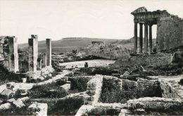V1646 Cpsm Ruines Romaines De Dougga - Temple De Jupiter - Tunisie
