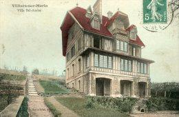 V1664 Cpa 77 Villiers Sur Morin - Villa Bel Assise - Frankreich