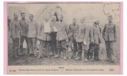 FRANCE -- GUERRE 14/18 -- WW1 -- PRISONNIERS ALLEMANDS AU CAMP ANGLAIS --- - Frankreich