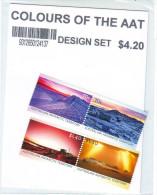 AAT 2015 Colours Of The AAT Complete Set Sceneries Paysages Antarctic Australien MNH** Série Somplète - Unused Stamps