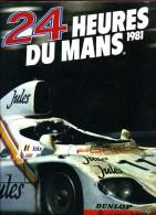 24 Heures Du Mans 1981 (ISBN 2903356068) - Boeken