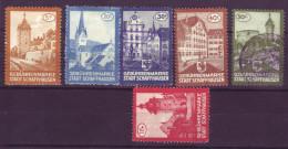 887 - SCHAFFHAUSEN Fiskalmarken - Steuermarken