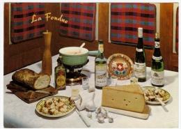 RICETTE DELLA FONDUTA - RICETTE DE LA FONDUE - Vedi Retro - Ricette Di Cucina