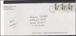 USA 204 Cover Brief Postal History Personalities - Postal History