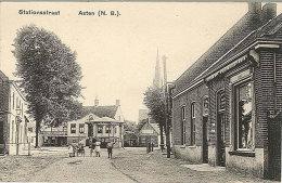 Ca 1915 - ASTEN - Fraaie Ansicht Stationsstraat - Autres