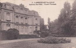 CPA  De  LAMBERSART (59) -  Institution Sainte-Odile  -  Façade Principale   //  TBE - Lambersart