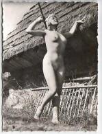 Véritable PHOTO FEMME NUE Années 50. Format 90 X 65 MM. N° 22 - Pin-ups