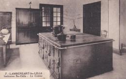 CPA  De  LAMBERSART (59) -  Institution Sainte-Odile  - La  Cuisine    //  TBE - Lambersart