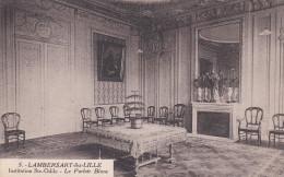 CPA  De  LAMBERSART (59) -  Institution Sainte-Odile  - Le Parloir  Blanc    //  TBE - Lambersart