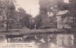 CPA  De  LAMBERSART (59) -  Institution Sainte-Odile  - Le  Parc - Le Chalet    //  TBE - Lambersart