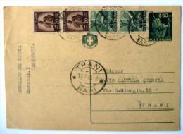 Italia: Cartolina Postale Spedita Nel 1946 - Marcofilie