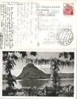 "AK  ""Lugano - San Salvatore"" - Cali Columbia            1946 - Svizzera"